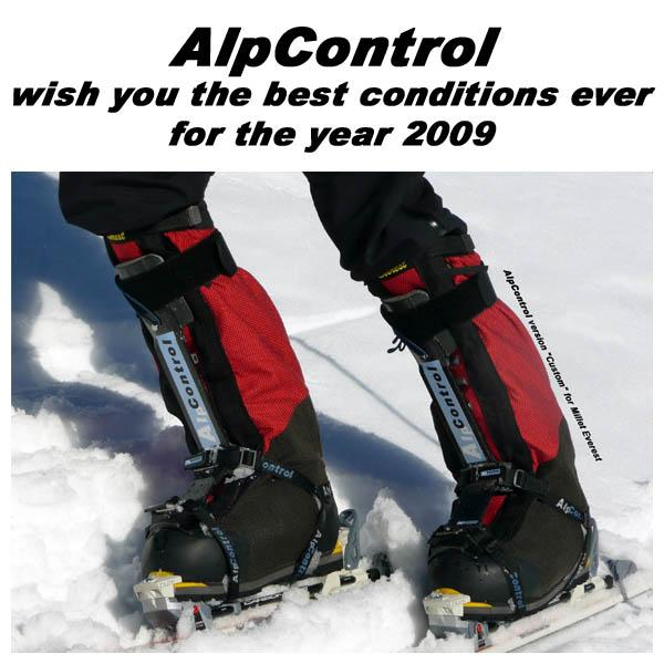 AlpControl wish you the best conditions ever for the year 2009